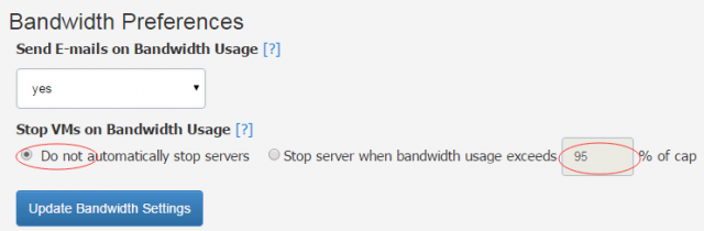 vultr bandwidth
